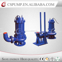 submersible electric sewage pump pumping with float switch