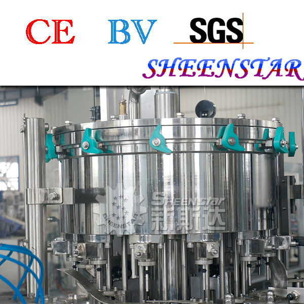 china top 3 in 1 carbonated water filling machine