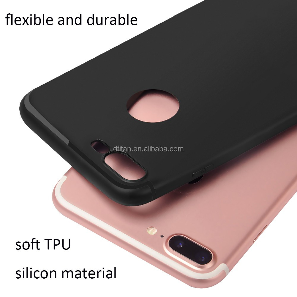 DFIFAN Phone accessories mobile case for iphone 7 8, Chinese supplier matte colorful back cover for iphone 7 plus case