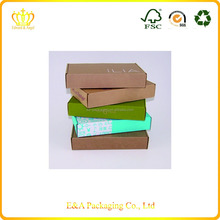 Eco-friendly folding corrugated carton box with colorful printing