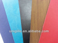 stocks pu lining leather for shoes