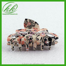 Women claw flower beads motif hair band ,hiar clasp ,hair clips for decoration Ykk-917-1