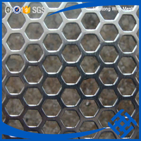 Producer Galvanzied Ss 316l Ventilate Griddle Punching Mesh perforated metal mesh panel