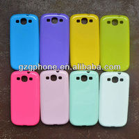 soft TPU waterproof case for samsung galaxy s3 i9300