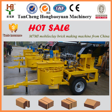 best selling products in nigeria M7MI hydraform paving red brick making machine with the best price