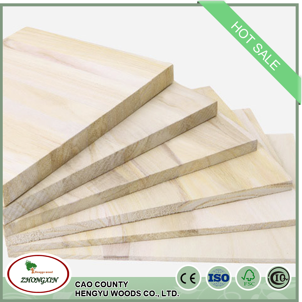 environmental s4s solid wood boards wholesale paulownia wood price