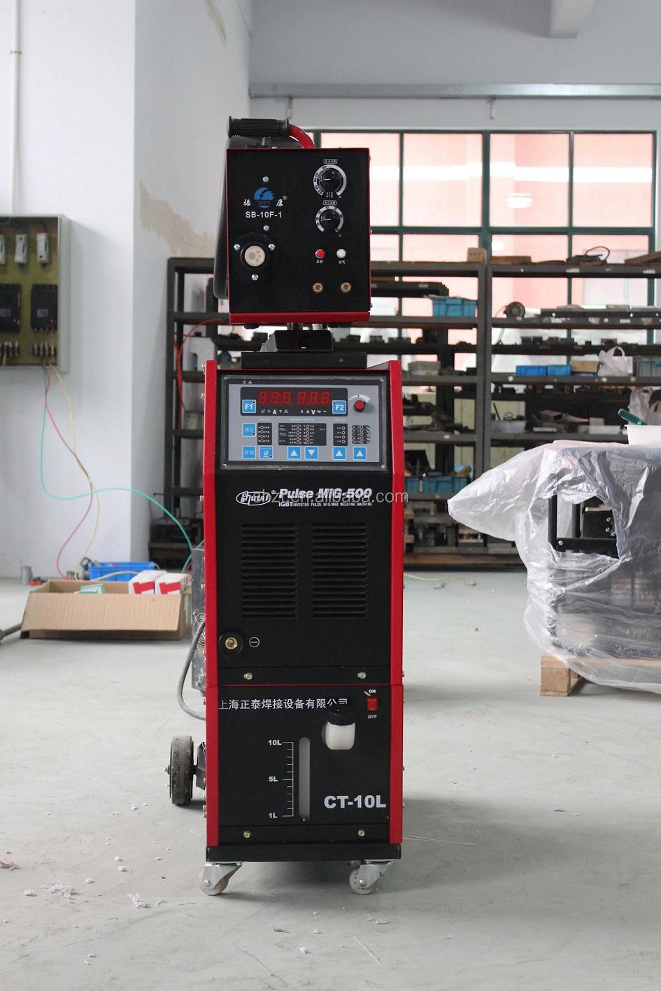 IGBT digital double pulse mig/mag welding machine,china 1-20mm mig welder pulse