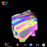 high light 3m colorful reflective film material for logo