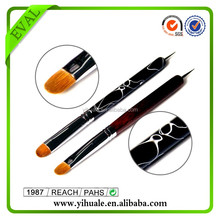 EVAL double ended kolinsky nail art brush