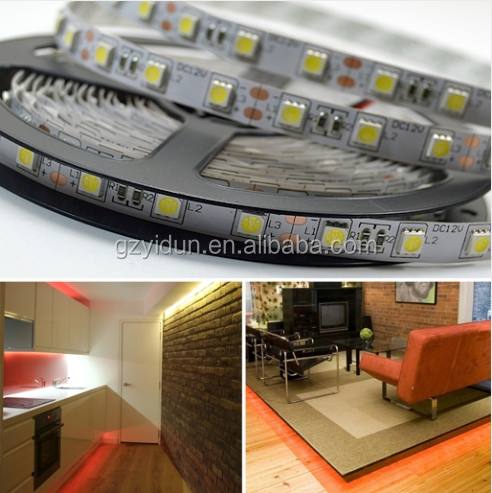 Yidun Lighting whole sale Samsung or Epistar chip SMD5050 OEM led strip for led light