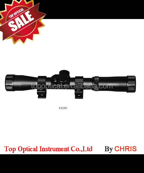 4X20 Professional military side wheel focus hunting rifle scope
