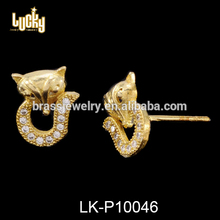 Women jewelry gypsy style cats design 14kt fancy earring maang tikka set for jewelry earring making