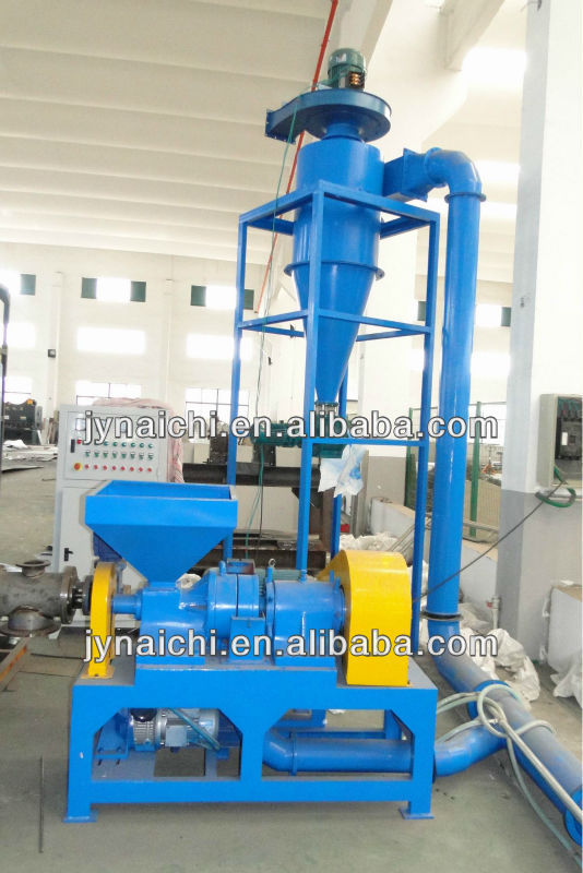 Waste Tire Recycling with Fine Rubber Grinder Unit of XFJ-260-III