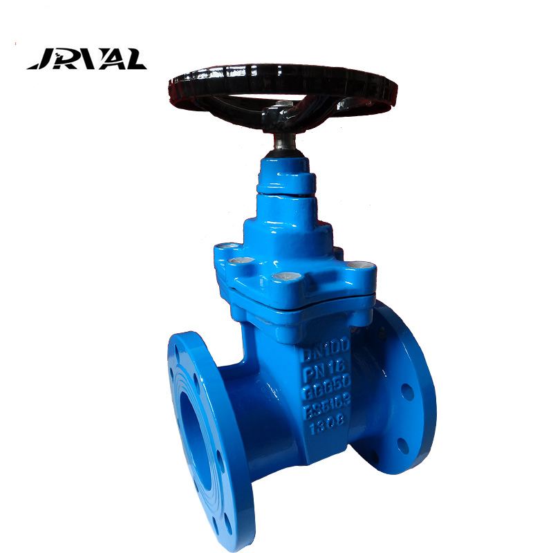 Casting Ductile Iron Double Gland Non Rising Stem 12 Inch Gate Valve