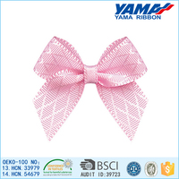 High color fastness hand craft rhombus ribbon carnival hair ornament