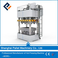 wood cutting machine, press wood pallet