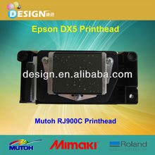 Brand New Model F160010 Dx5 Water Base Mutoh RJ900x Printhead Parts With Double CMYK Colors