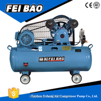 Good Quality Belt Driver Air 2hp Piston Compressor Wl3100 High And Low Pressure