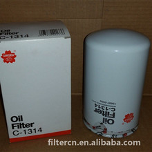 SAKURA C-1314 Lubricating oil FILTER 15607-2050 HINO TRUCK hydraulic oil filter 15607-1733