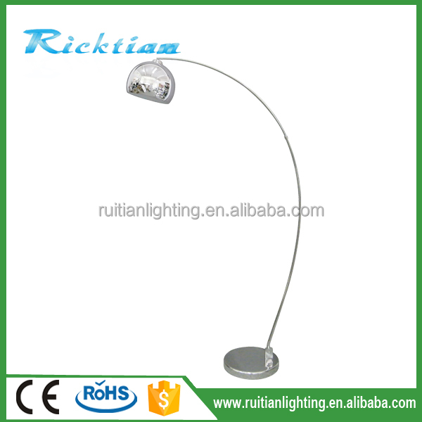Hotel Lighting ,hospitality Lighting,modern Brushed Chrome Floor Lamp For Hote