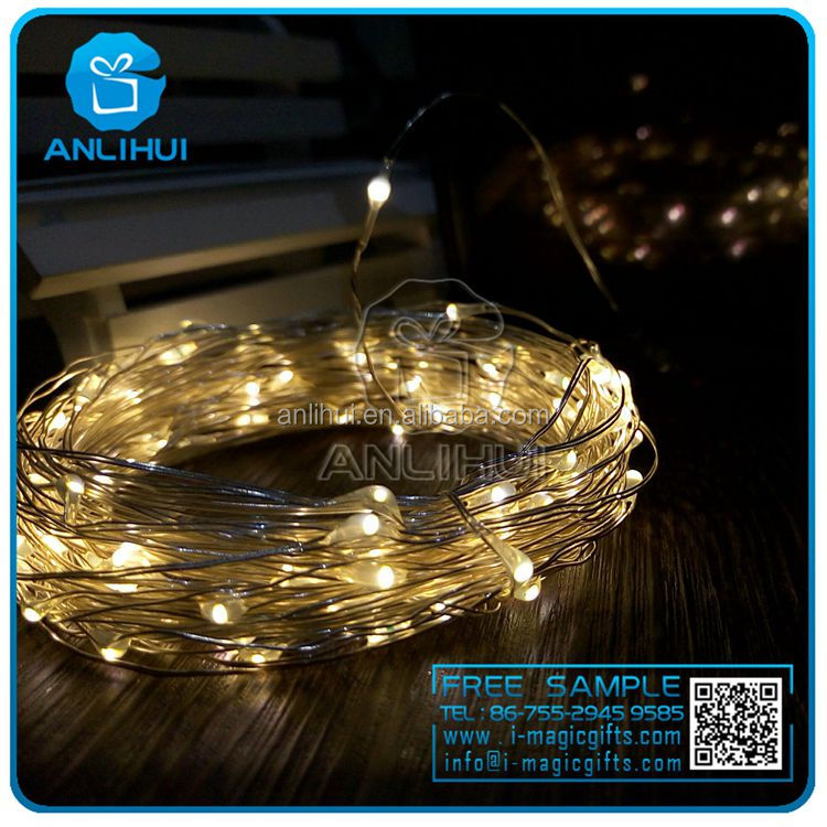 Promotion rgb or single color Wedding Party Xmas outdoor solar string 10m 100 leds Christmas Light