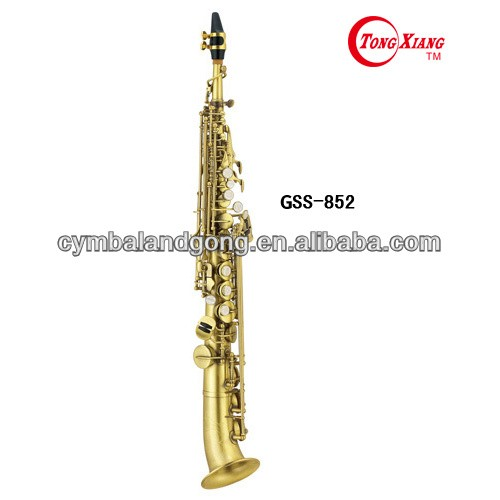 High Grade Curved Soprano Saxophone (GSS-852) on hot sale