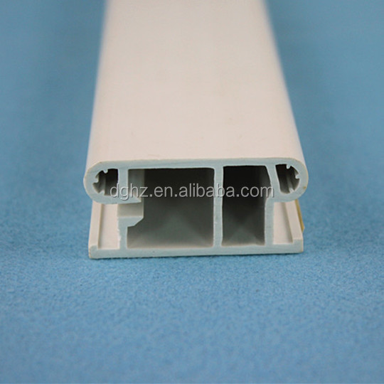 factory direct sale ABS extrusion oval tube plastic profile with printing with best price