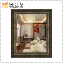Wall Hanging Dressing Mirror Cheap Plastic Baroque Mirror Frames
