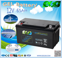 High Quality Gel 12v 65AH Lead Acid Good Performance UPS Battery