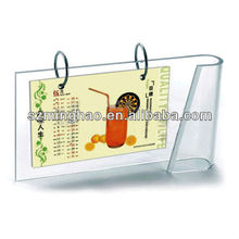 Newly design table calendar customized model