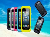 Durable Dirt/Shock Proof Silicon Waterproof Cover Case for iPhone 4 4s 5 5s