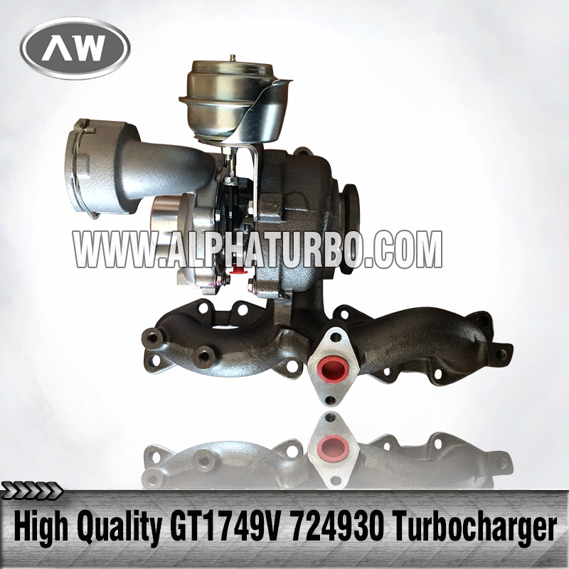 engine turbo Garret GT1749v 724930 724930-5008S 03G253019AX turbocharger for Audi A3 2.0 TDI (8P/PA) BKD