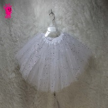 2017 Baby Tutu skirt New Cake Sequins Tutus Girls Skirts Children Short Skirts