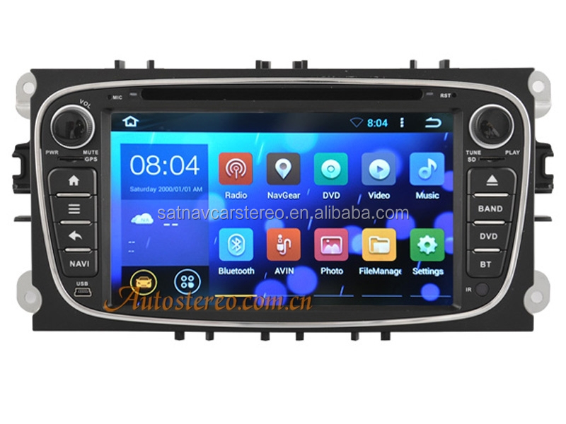 Android Car MP3 Player with GPS Navigation for Ford MONDEO/S-MAX/GALAXY Car DVD Player