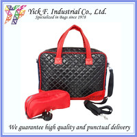 PU Qulited 16 inch Portfolio laptop bag