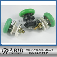 Nylon roller skate bearings windows plastic wheel roller skate guide for sliding gate