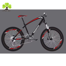 "24 ""26"" MTB 21 speed alloy mountain bike new model adult aluminium frame full suspension steel racing bicycle bike from china"