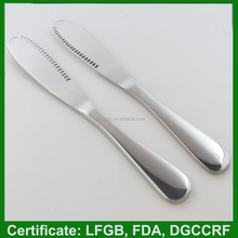 2015 hot new stainless steel butter knife