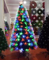2016 New Style Fiber Optic Prelit Led Light Christmas Tree