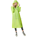 2018 personality slim transparent Long fashion raincoat