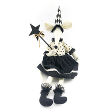 61CM halloween mouse witch dolls halloween decoration