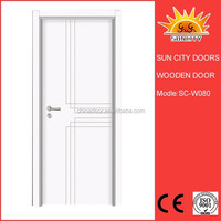SC-W080 New design teak kerala wooden doors