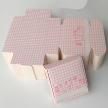 Small soap box packaging product with single cardboard layer