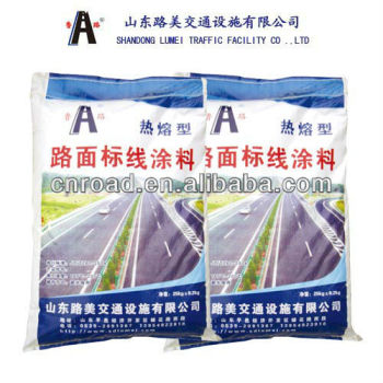 2014 Best Selling Reflective Thermoplastic Traffic Road Line Paint In china