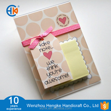 4x6 acrylic sticky note pad holder