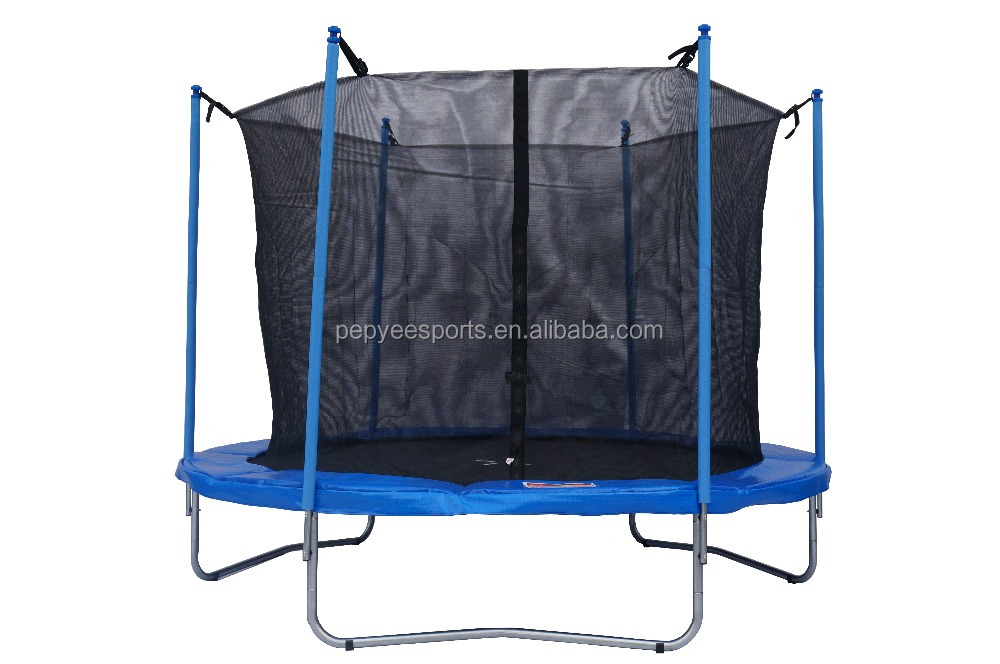 10ft Round Trampoline with Safety Enclosure for Sale