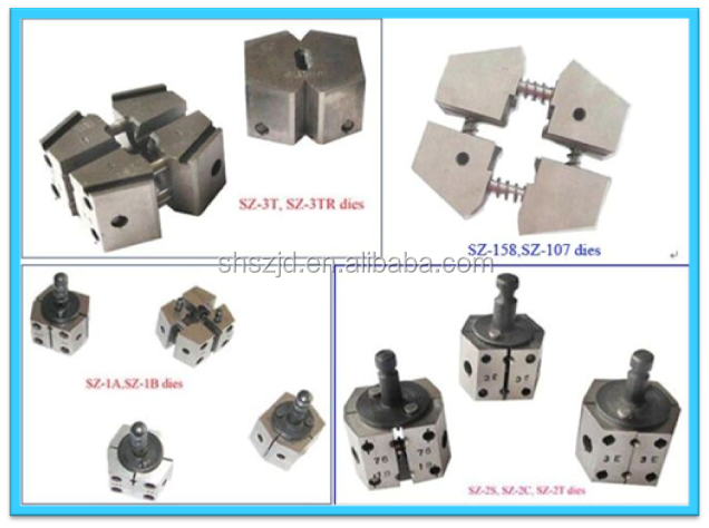 cable wire factory NEW cold welding machine welding tooling dies