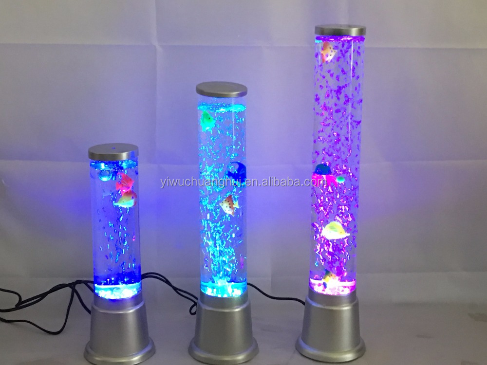 Acrylic Chuanghui led change color water bubble lamp