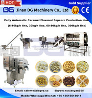 Industrial round popcorn /butterfly popcorn making machine /processing plant