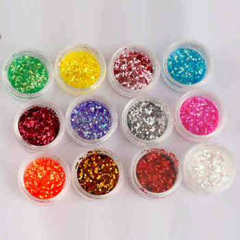 2018 Oulac glitter Sequins factory wholesale Acrylic Powder For Nail